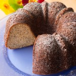 Almond Poppyseed Pound Cake